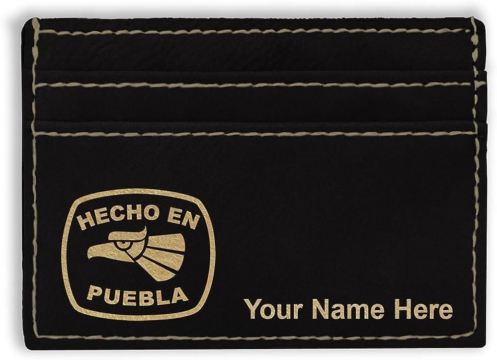 Hecho En Puebla Personalized Engraving Included Money Clip Wallet