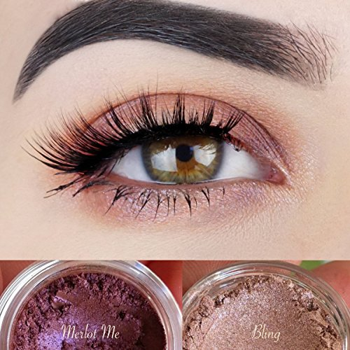 """Vegan Eyeshadow   All Natural Mineral Makeup   Cruelty Free Cosmetics   Get this Look Duo """"ETHEREAL""""   Look Good, Feel Good Naturally with Addictive - How Get To Style Kylie Jenner"""