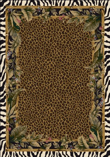Signature Jungle Safari Skins Rug Rug Size: 7'8