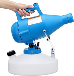 MARATTI 4.5L Electric ULV Sprayer Portable Fogger Machine, Spraying Distance 20-26ft, Rate 150-260ml/min-Large Area Clean Sprayer Suitable for Indoor Outdoor (110V/1400W)