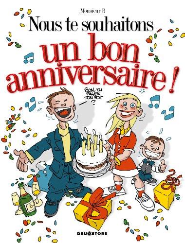 Nous Te Souhaitons Un Bon Anniversaire French Edition