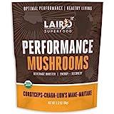 LAIRD SUPERFOOD Organic Performance Mushroom Blend, 3.17 OZ