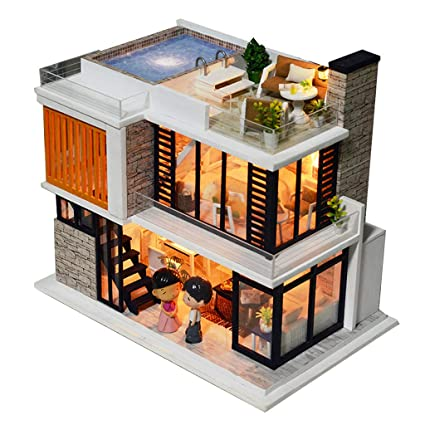 Amazoncom Fenteer 124 Scale Diy Handcraft Miniature