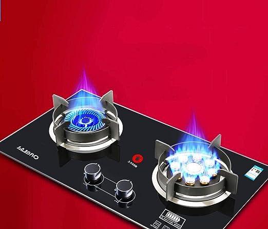 Amazon.com: GONGFF cocina de gas natural, estufa de gas en ...