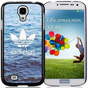 Beautiful Designed Antiskid Cover Case For Samsung Galaxy S4 I9500 i337 M919 i545 r970 l720 Phone Case With Adidas Logo Over Water_Black Phone Case