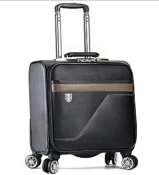 Maleta Trolley Business Maleta con ruedas de 18 pulgadas con ruedas Maleta Juego de equipaje con