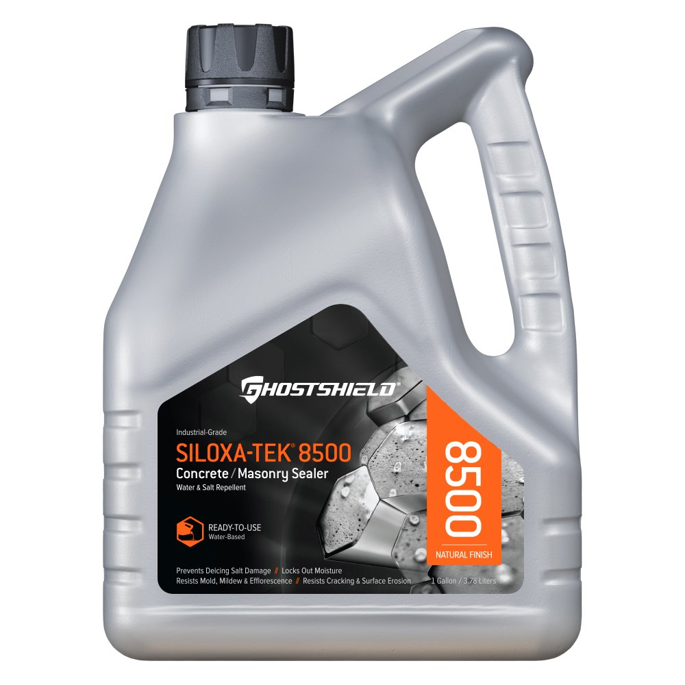 Siloxa-Tek 8500 - 1 Gallon Penetrating Concrete Sealer, Water and Salt Repellent by Ghostshield (Image #1)