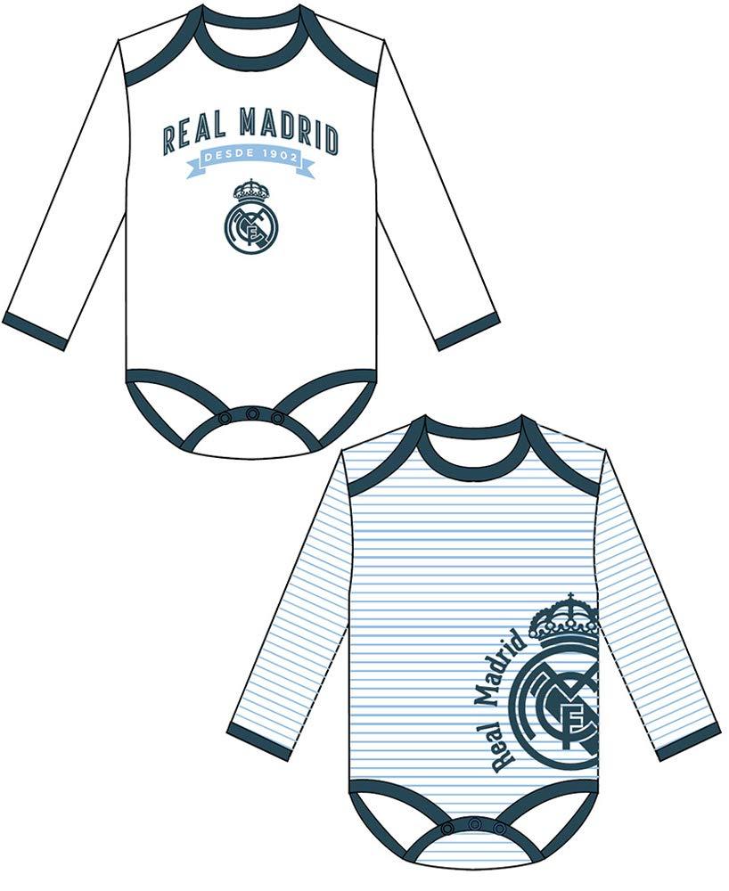 Taille 3 Mois Set De 2 Bodys B/éb/é Real Madrid
