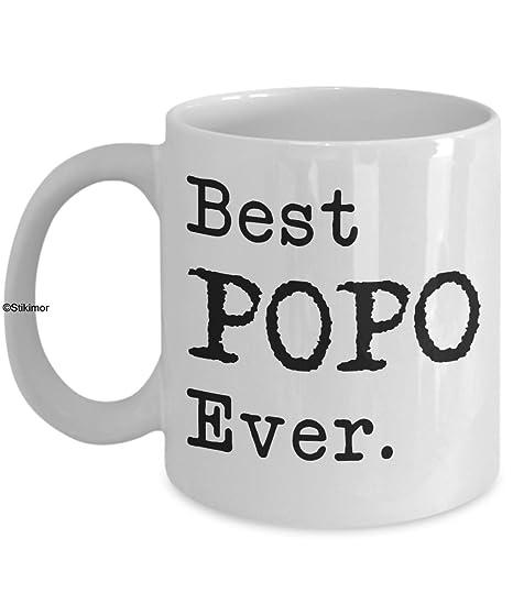 Amazon.com: Día del padre regalo para Popo regalo de ...
