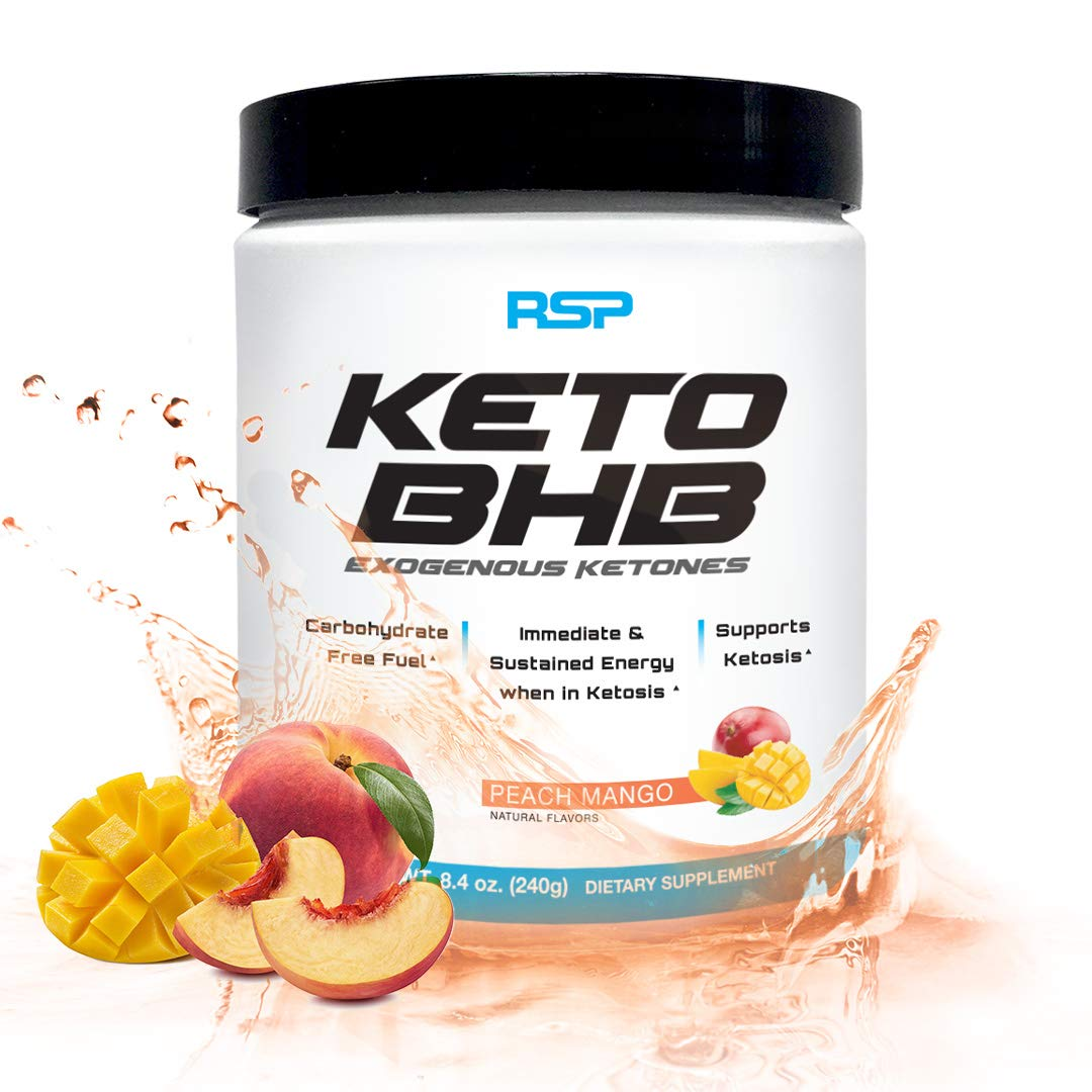 Rsp Keto Bhb Exogenous Ketones Powder 11 7g Gobhb Support Ketosis Boost Energy Enhance
