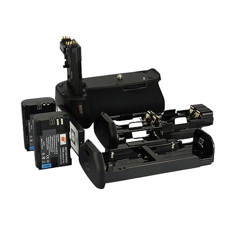 DSTE - Soporte de baterías inalámbrico para cámara réflex Canon ...