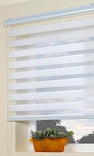 Großartig Doppelrollo Duo Rollo Farbe weiß 180 cm breit x 170 cm lang mit  ZN79