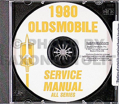 1980 Oldsmobile CD-ROM Repair Shop Manual (80 Cruiser Oldsmobile 1980 Cutlass)