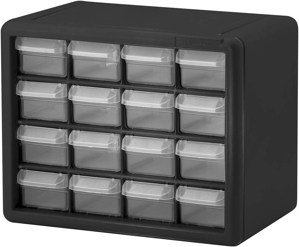 Akro-Mils 16 Drawer 10116, Plastic Parts Storage Hardware and Craft Cabinet