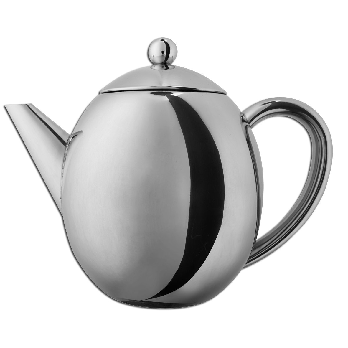 double walled insulated stainless steel thermal teapot  keep tea  - double walled insulated stainless steel thermal teapot  keep tea warmduring serving plus drip free pouring amazoncouk kitchen  home