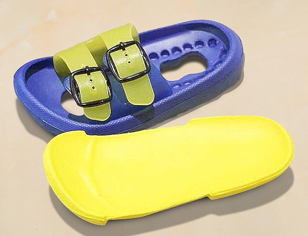 Cwait Kids Summer Slippers Indoor Outdoor Slippers Beach Sandals Toddler Little Kid