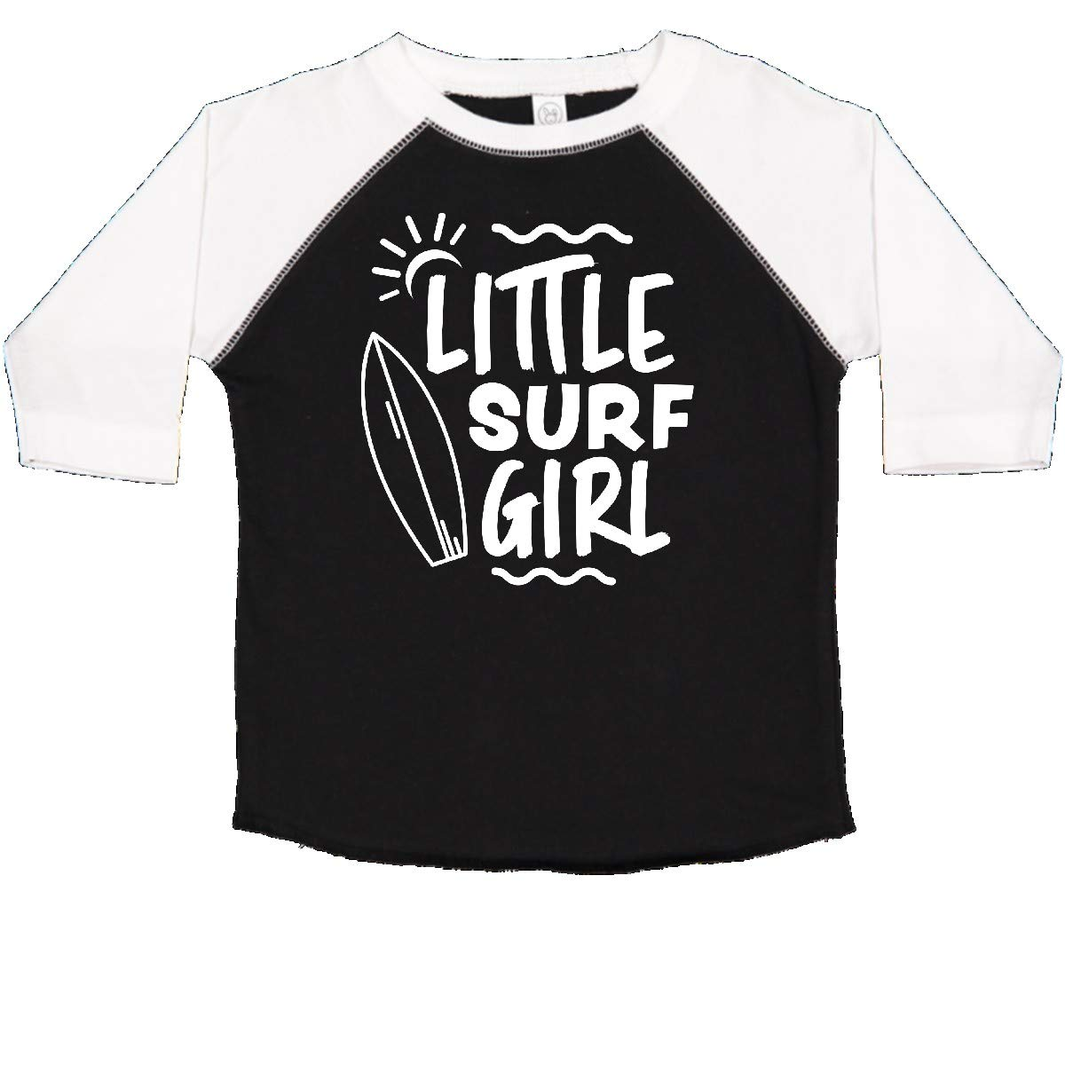 inktastic Little Surf Girl with Surfboard Toddler T-Shirt