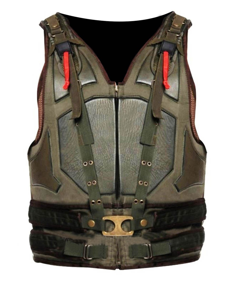 Bane Leather Vest by Spazeup