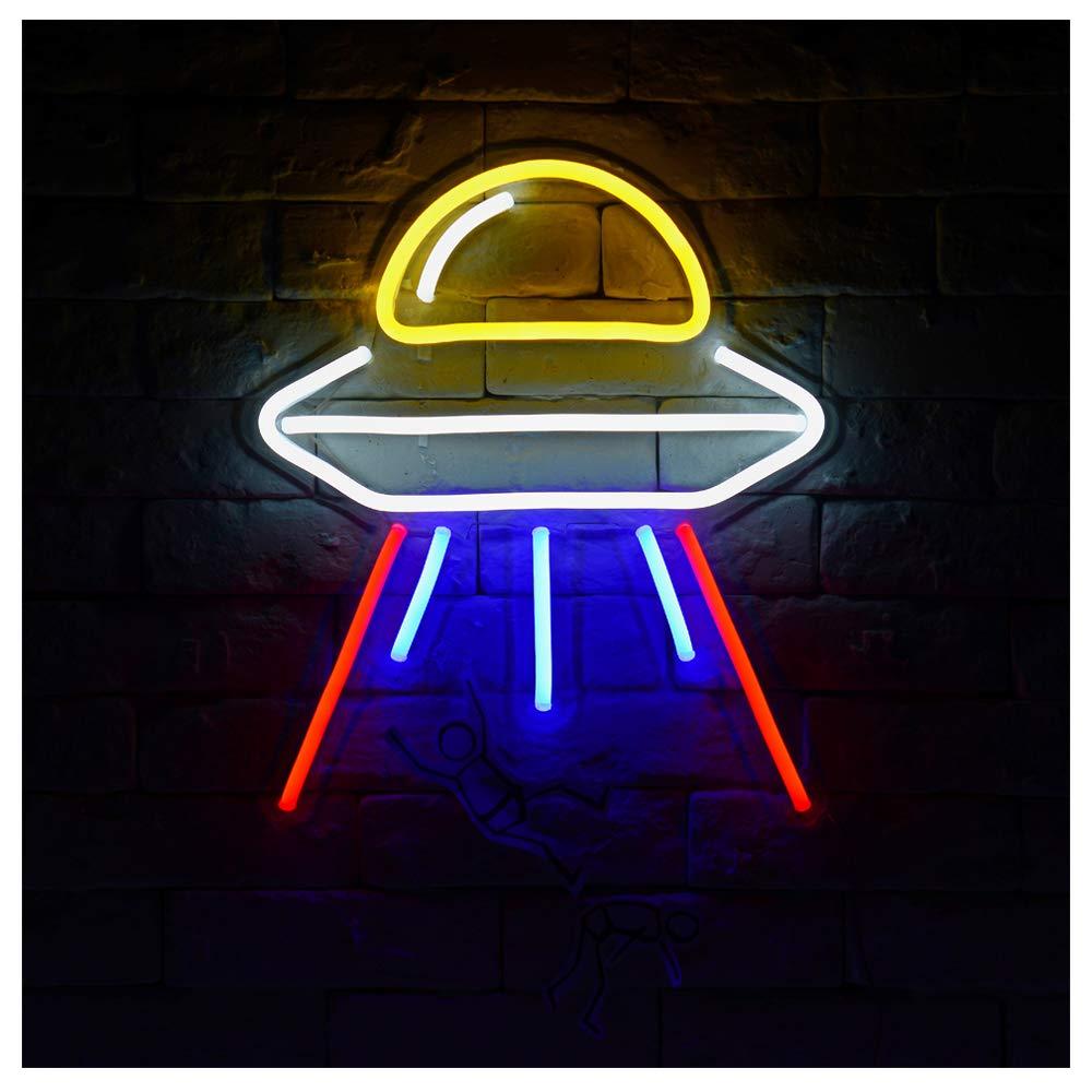 Alien Spaceship-A LED Neon Sign Lights Kids Room Decor