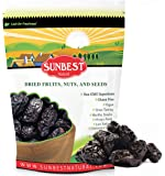SUNBEST Pitted Dried Prunes, Dried Plum - Pitted in Resealable Bag (3 Lb)
