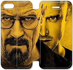 Screen Protection Phone Cases Breaking Bad-14 iPhone 4 4S Leather Flip Case