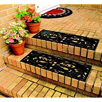 Rubber Step Guards/Stair Mats  Set Of 2
