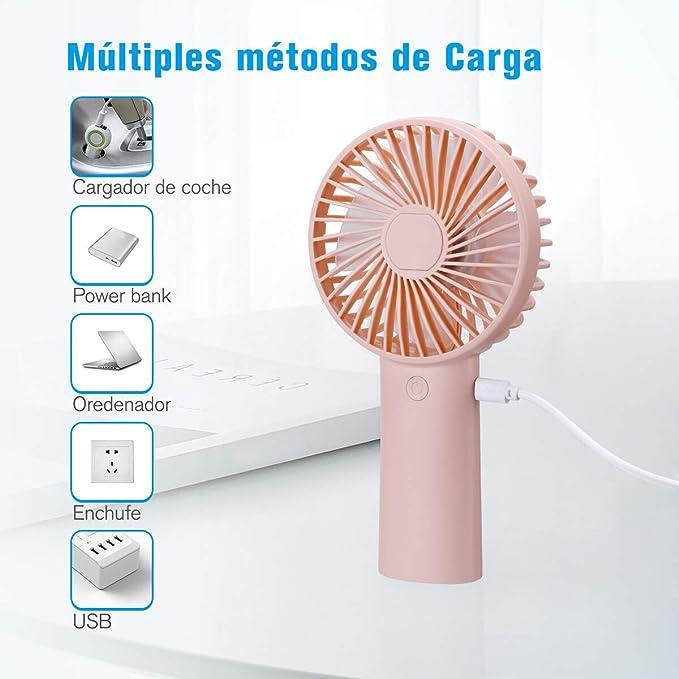 isYoung Mini Ventiladores de Mano: Amazon.es: Electrónica