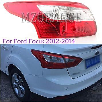 Rear bumper reflector lens lights for Ford Focus 3 2012-2014 Sedan Four door