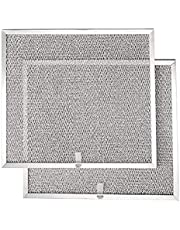 """Broan BPS1FA30 Replacement Filters for QS1 and WS1 30"""" Range Hoods, Aluminum, 11.8"""" x 14.3"""" x 0.37"""" (L x W x H), 2-Pack"""