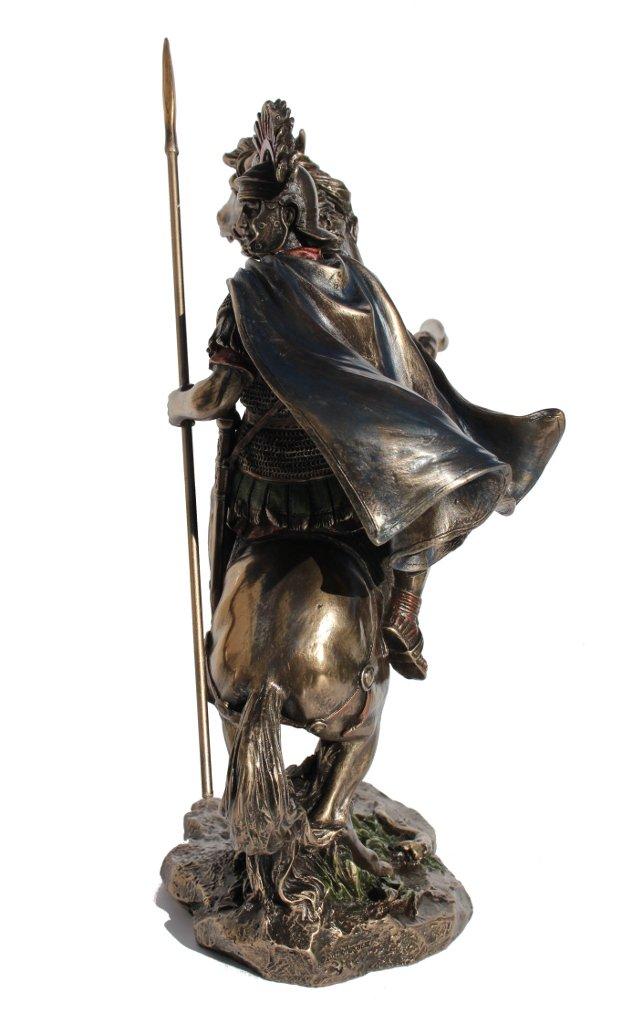 Amazon.com: Estatua Bronce Fundido en Frío Centurión romano ...