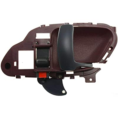 95-02 Chevy C/K 95-99 Suburban Red Front and Rear Inner Door Handle Right Side: Automotive