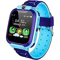 Ajcoflt 1.44 '' Reloj inteligente para niños LBS Tracker SOS Call Llamada bidireccional Chat de voz Zona de seguridad…