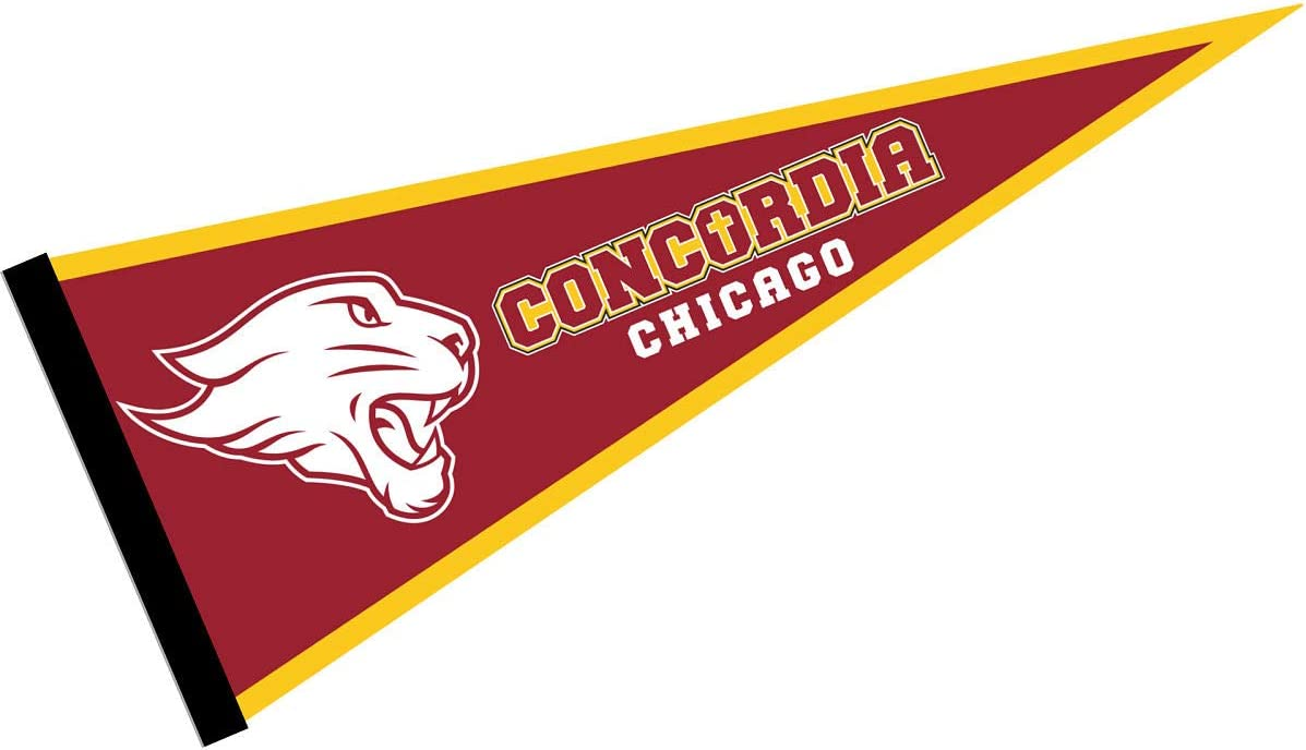 Concordia University Chicago Pennant College Flags /& Banners Co