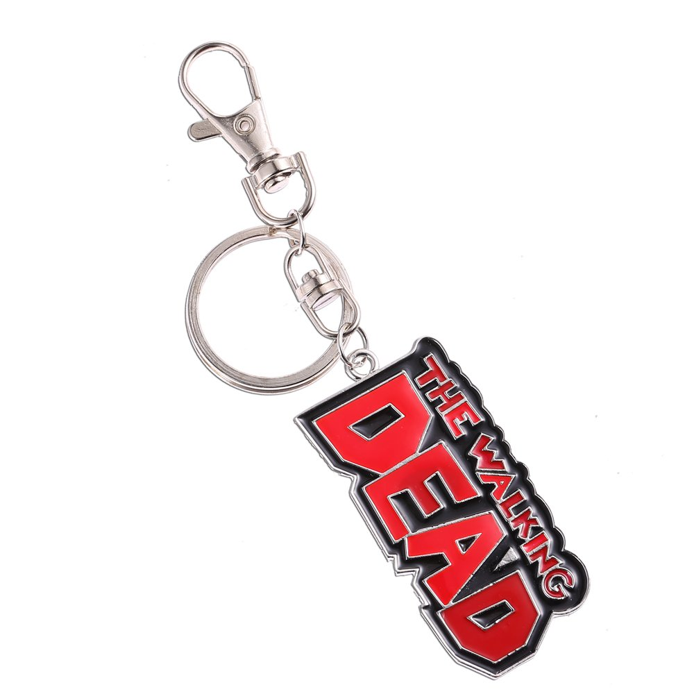 Outlander Gear AMC The Walking Dead Logo Llavero con incluye ...
