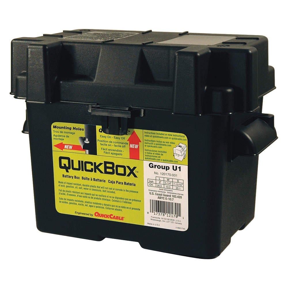 Quickbox 120170 Group U1 Battery Box VBB-U1
