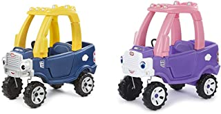 product image for Little Tikes Blue Cozy Truck and Pink Cozy Truck - Bundle