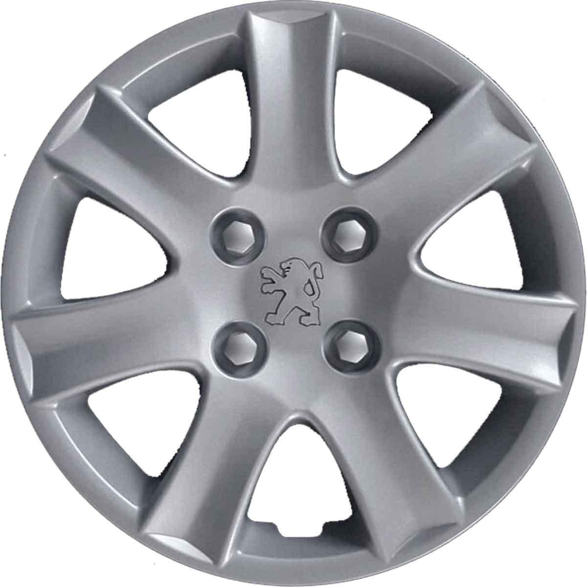 Tapacubos trago Copa Rueda 14 Peugeot 206 Plus dal1998 de partir No originales: Amazon.es: Coche y moto