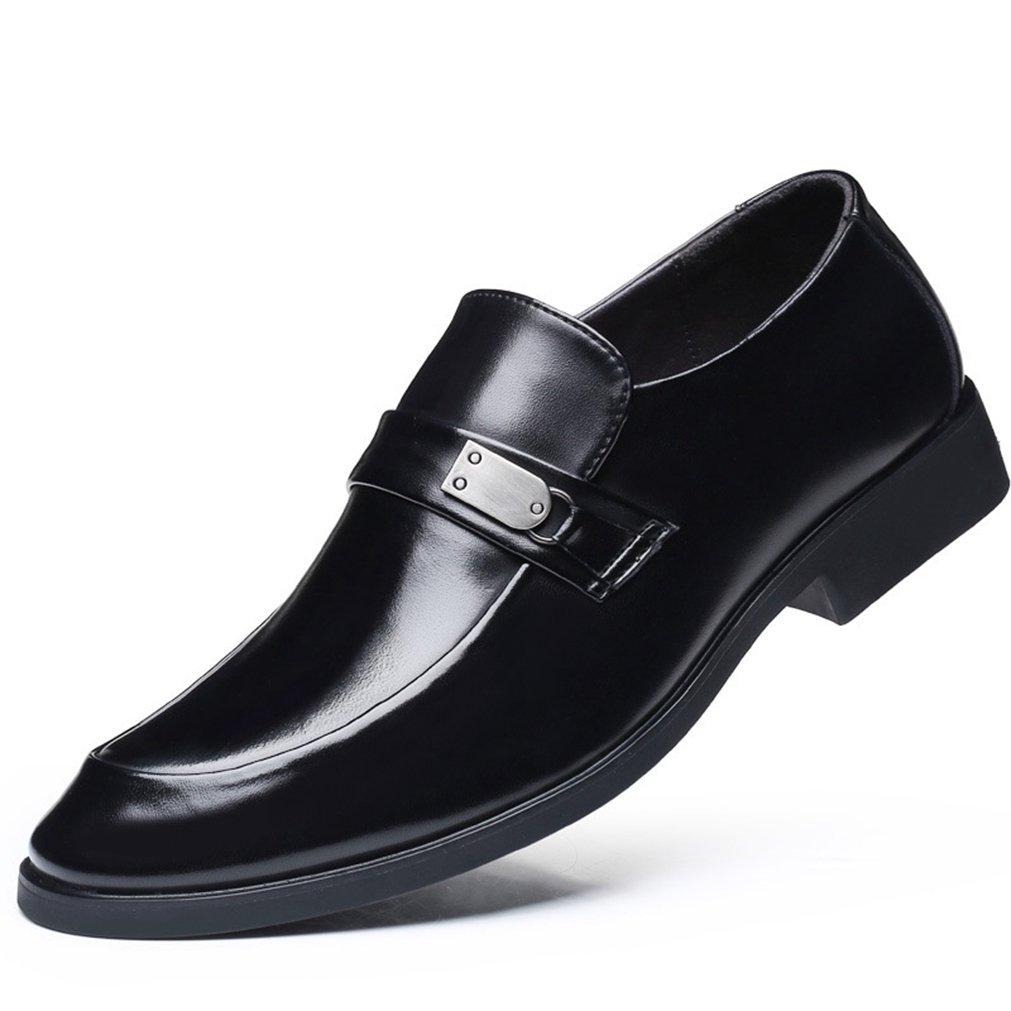 Feidaeu Zapatos de Material Sintético Hombre 42 EU|Schwarz,Slipper