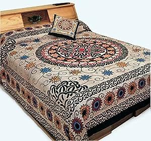 Cotton Celtic Sunflower Print Tapestry