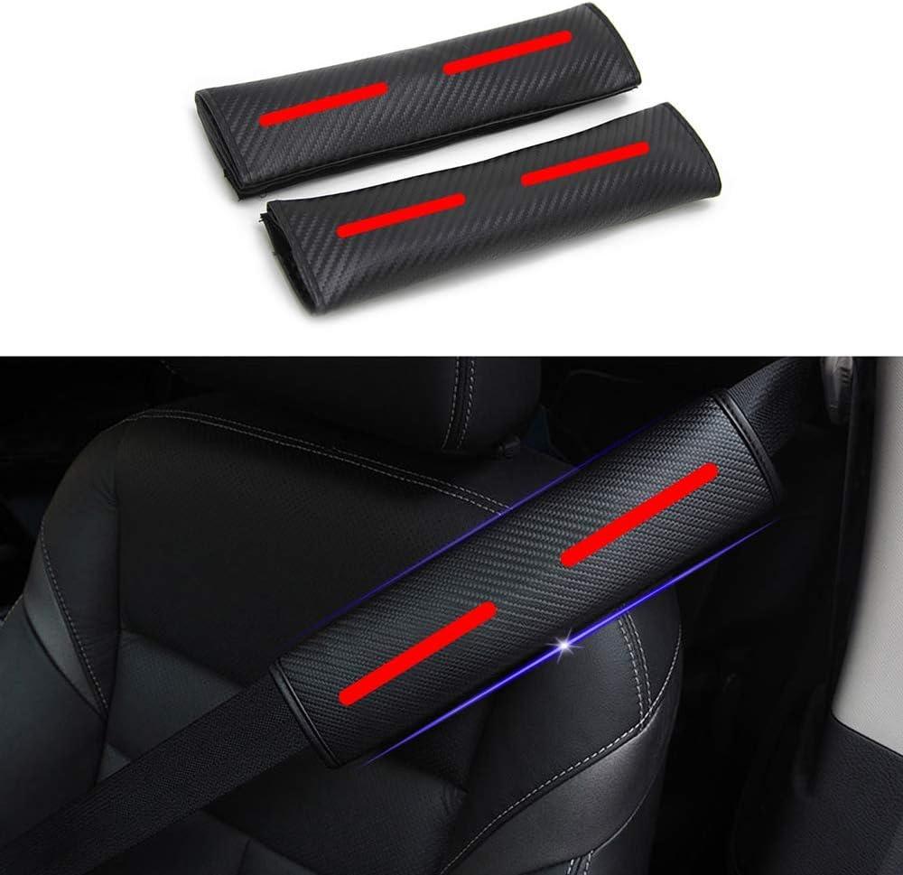Dise/ñado para CX-5 1 par Almohadillas para Cintur/ón de Seguridad Viaje Cintur/ón de seguridad Coj/ín de hombro con pegatinas reflectantes