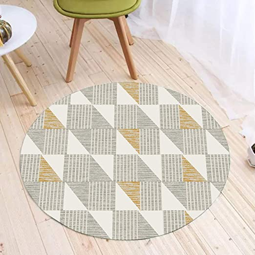 Amazon.de: CarPET Teppiche Wohnzimmer Modernes Dreieck Design ...