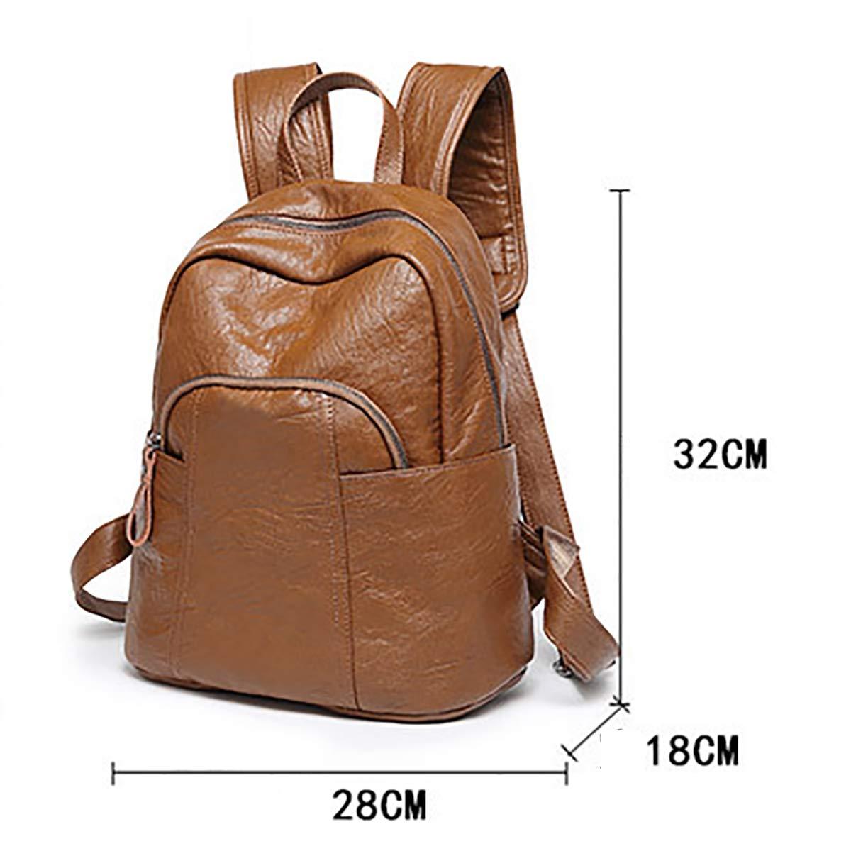 OOFAY Schultertasche Für Frauen College-Stil Tasche Mode Handtasche,Braun