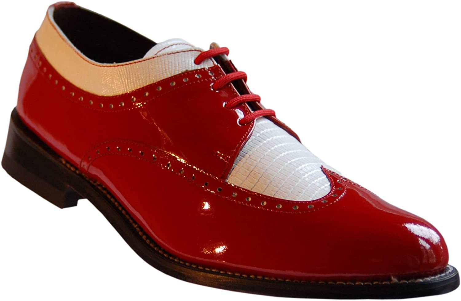 White Wingtip Spectator Shoes