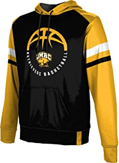 Heather School Spirit Sweatshirt ProSphere University of Maryland Baltimore County Girls Zipper Hoodie