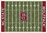 NCAA Home Field Rug - North Carolina State Wolfpack, 7'8'' x 10'9''