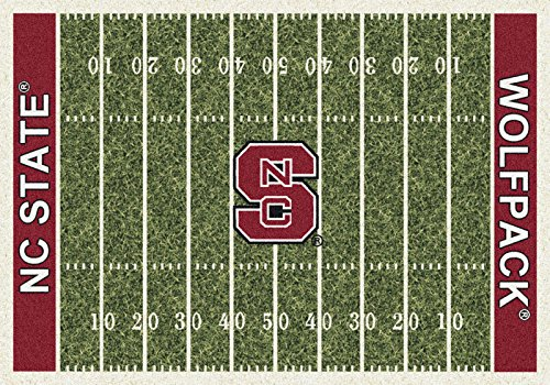 NCAA Home Field Rug - North Carolina State Wolfpack, 7'8'' x 10'9'' by Millilken