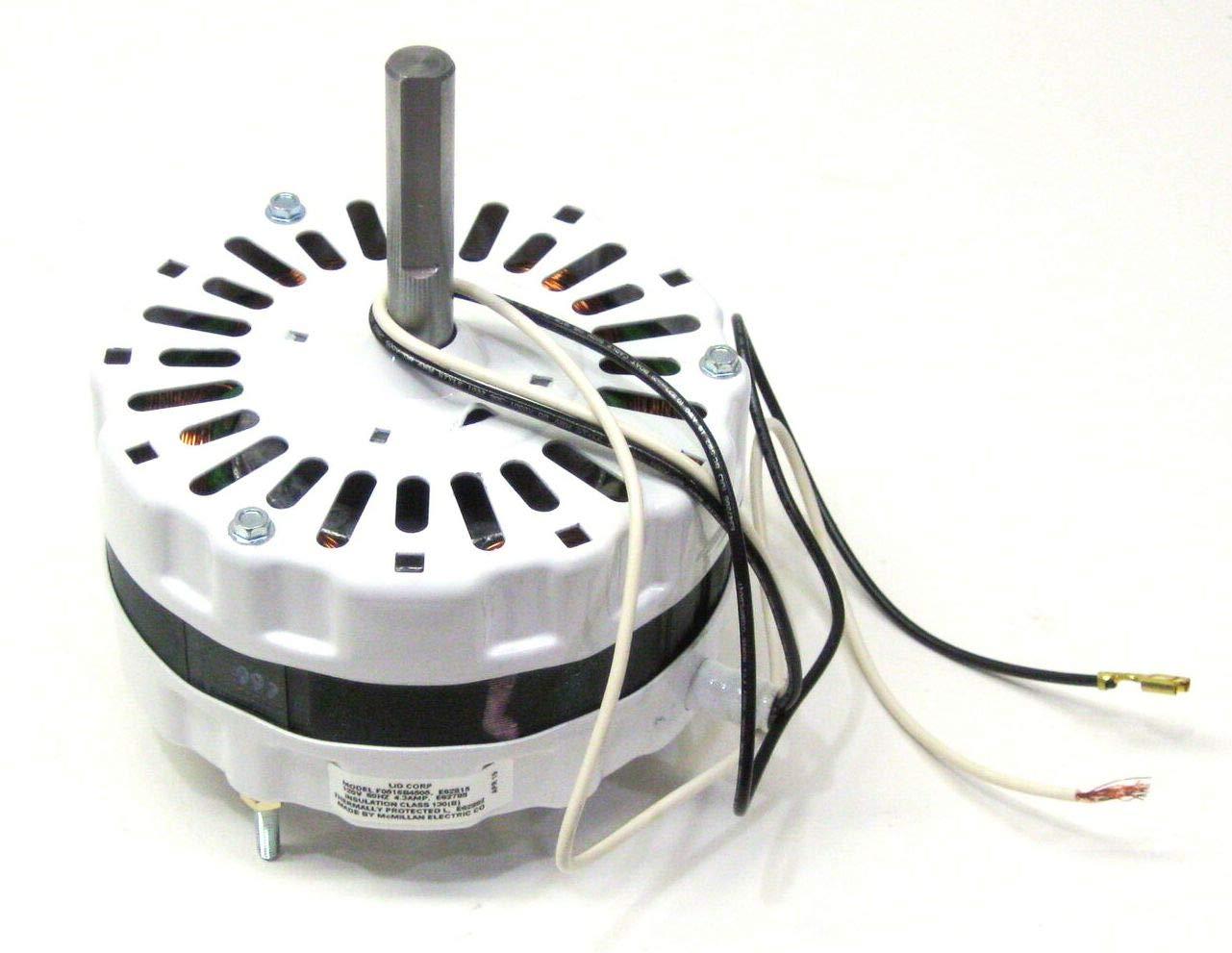 Motor 69317 Attic Fan Ventilator for Broan 97009317 99080267 White 5 Diameter