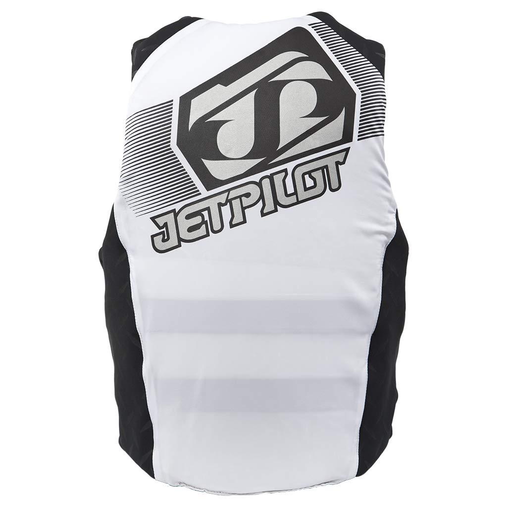 Jet Pilot Hybrid Vest White Mens XXL PFD CGA Neoprene Waterski Wakeboard Life Jacket