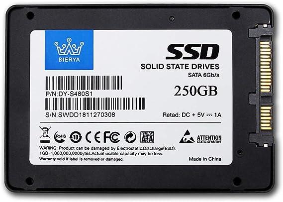 Dierya 120gb 250gb 500gb 1tb Solid State Drive 2 5 Inch Computers Accessories