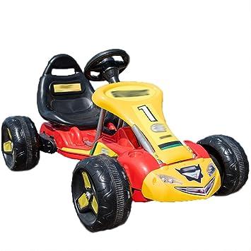 Chenyang86 Karting - Karting eléctrico de Cuatro Ruedas, Pedales robustos. (Color : Red, Tamaño : Pure Pedal): Amazon.es: Hogar